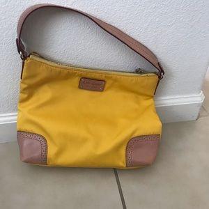 Yellow Kate spade handbag